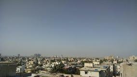 Ville de Karachi Images stock