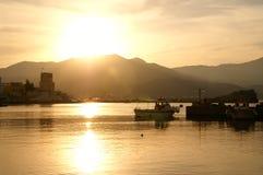 Ville de Karpathos Images stock
