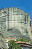 Ville de Kastraki, montagnes de Meteora dans la Thessalie, Grèce Photo stock