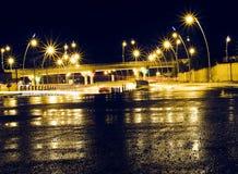 Ville de Kirkuk après pluie photo libre de droits