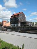 Ville de Klaipeda, Lithuanie Photo libre de droits