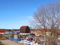 Ville de Klaipeda, Lithuiania Images libres de droits