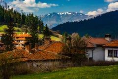 Ville de Koprivshtitsa en Bulgarie Photo libre de droits