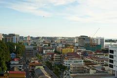 Ville de Kota Kinabalu Photographie stock