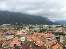 Ville de Kotor dans Monténégro photographie stock libre de droits