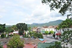 Ville de Kuala Kubu photos stock