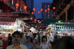 VILLE DE L'ASIE SINGAPOUR CHINE Photos libres de droits