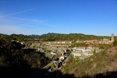 Ville de l'eau de Gubei, le comté de Miyun, Pékin, Chine Images libres de droits
