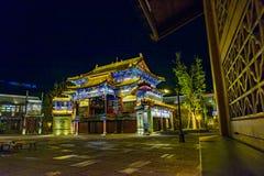 Ville de l'eau de Gubei, le comté de Miyun, Pékin, Chine Photographie stock