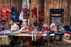 Ville de l'eau de secteur de Wuzhen Photos stock