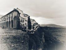 Ville de l'Espagne Andalousie de Ronda images libres de droits