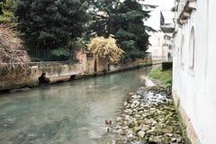 Ville de l'Italie, Trévise image libre de droits