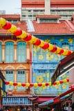 Ville de la Chine à Singapour Photographie stock