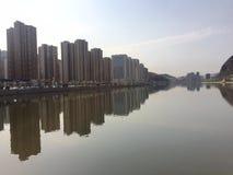 Ville de la Chine photo stock