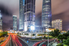 Ville de la Chine de Changhaï Photo libre de droits