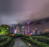 Ville de la Chine de Changhaï image libre de droits