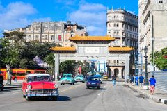 Ville de la Chine, Havana Cuba photo stock