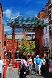 Ville de la Chine à Londres Photographie stock libre de droits