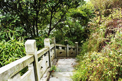 Ville de la Chine Yiwu, province de Zhejiang, roche de Wu de 23 villes Photo libre de droits