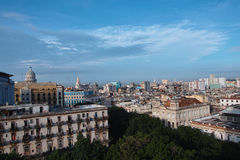 Ville de La Havane au Cuba Photos stock