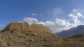 Ville de la pierre, ruines du château royal du royaume antique de Puli Photographie stock libre de droits