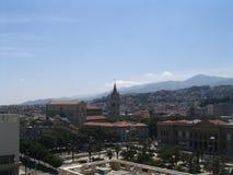 ville de la Sicile de mesina Photos libres de droits