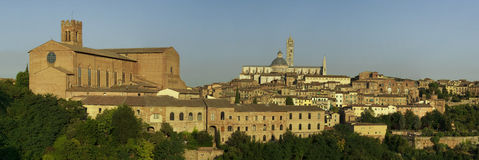 Ville de la Toscane de Sienne Italie Images libres de droits