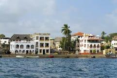 Ville de Lamu, Kenya. Photographie stock