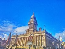 Ville de Leeds Photos stock
