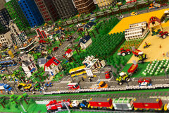 Ville de LEGO Photos stock