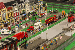 Ville de LEGO Photo stock