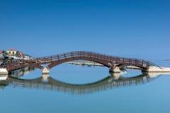 VILLE DE LEUCADE, GRÈCE LE 17 JUILLET 2014 : Vue panoramique de ville de Leucade, Grèce Photographie stock libre de droits