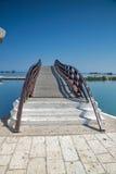VILLE DE LEUCADE, GRÈCE LE 17 JUILLET 2014 : Vue panoramique de ville de Leucade, Grèce Photos libres de droits