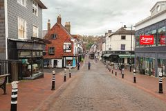 Ville de Lewes, East Sussex, Angleterre images stock