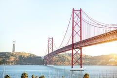 Ville de Lisbonne au Portugal Photos stock