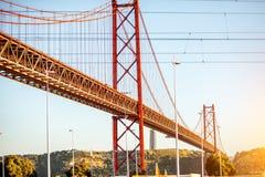 Ville de Lisbonne au Portugal Photo stock