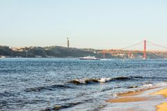 Ville de Lisbonne au Portugal Photos libres de droits
