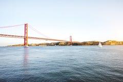 Ville de Lisbonne au Portugal Image stock