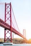 Ville de Lisbonne au Portugal Images libres de droits