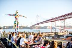 Ville de Lisbonne au Portugal Photographie stock