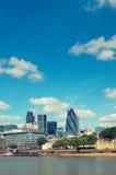 Ville de Londres Images libres de droits