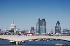 Ville de Londres Photographie stock libre de droits