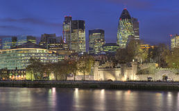 Ville de Londres, tour de Londres Images libres de droits