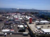 Ville de Long Beach la Californie Photo stock