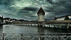 Ville de Lucerne Image libre de droits