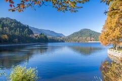 Ville de Lushan Guling en automne Image libre de droits