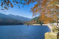 Ville de Lushan Guling en automne Image stock