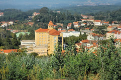 Ville de Luso, Portugal Images stock