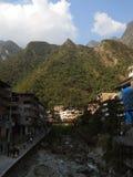 Ville de Machu Picchu, Pérou photographie stock libre de droits