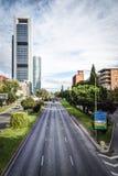 Ville de Madrid Photo libre de droits